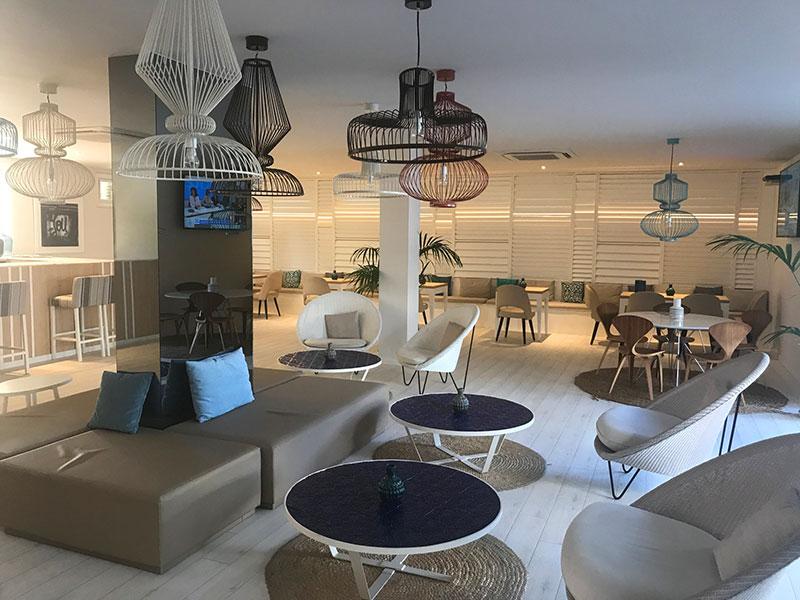Lounge at Hotel Antemar, Sitges