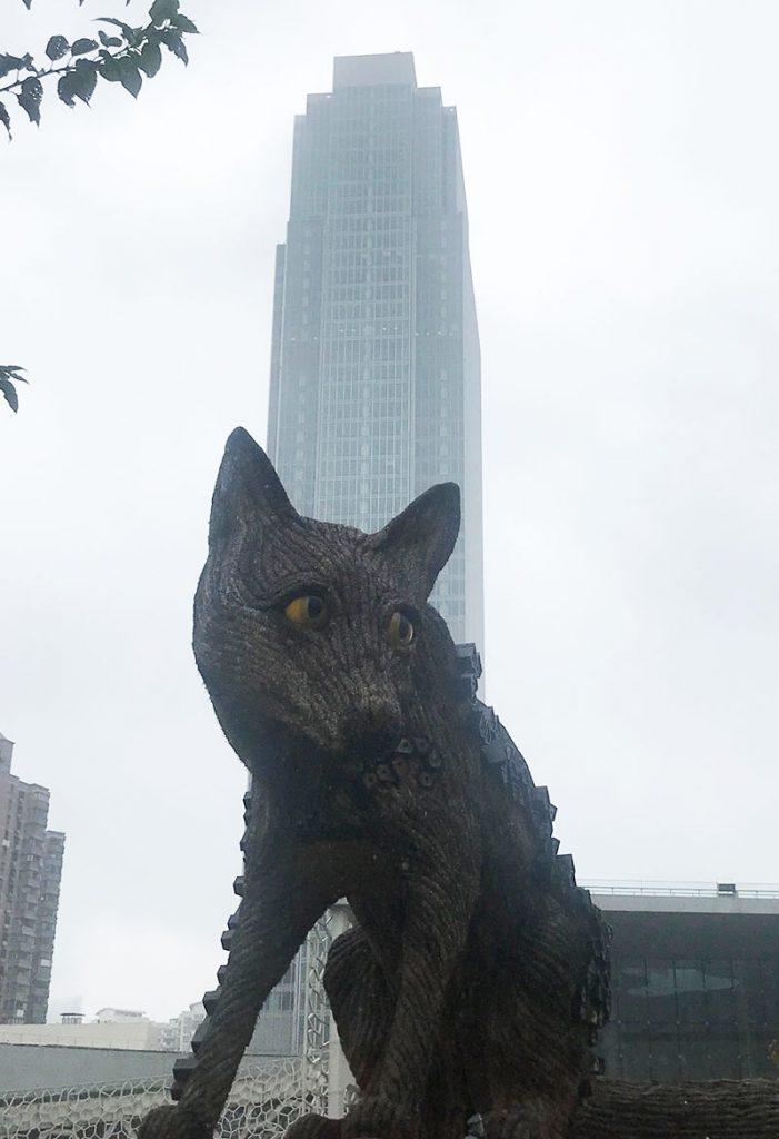 Jingan Sculpture Park in Shanghai