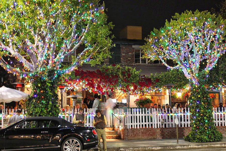 The Ivy restaurant, North Robertson Boulevard, Los Angeles