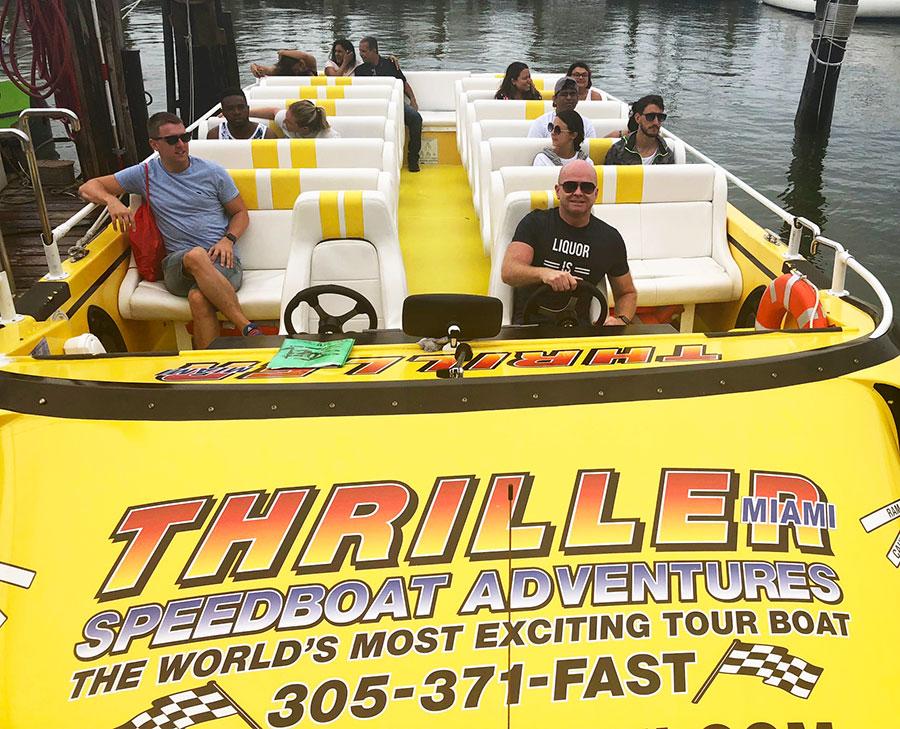 The Thriller Boat Ride, Miami Beach