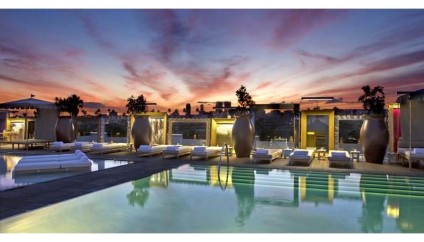 Sofitel Hotel Pool, Los Angeles