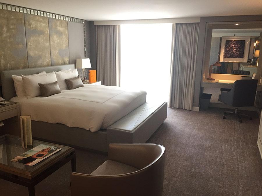 Hotel Room interior, Viceroy L'Emirtage, Los Angeles