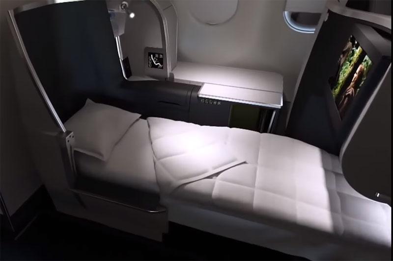 Lie-back seat, Aer Lingus Business Class