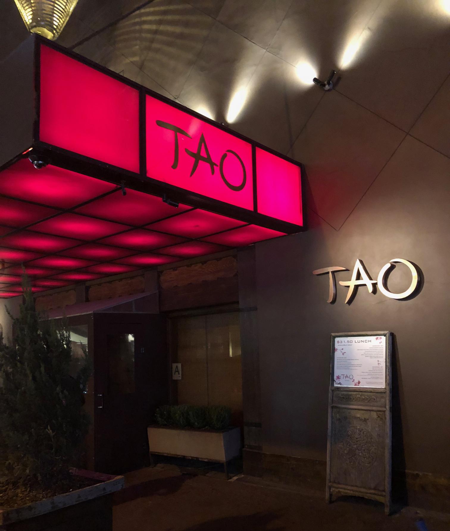 TAO Restaurant, Madison Avenue