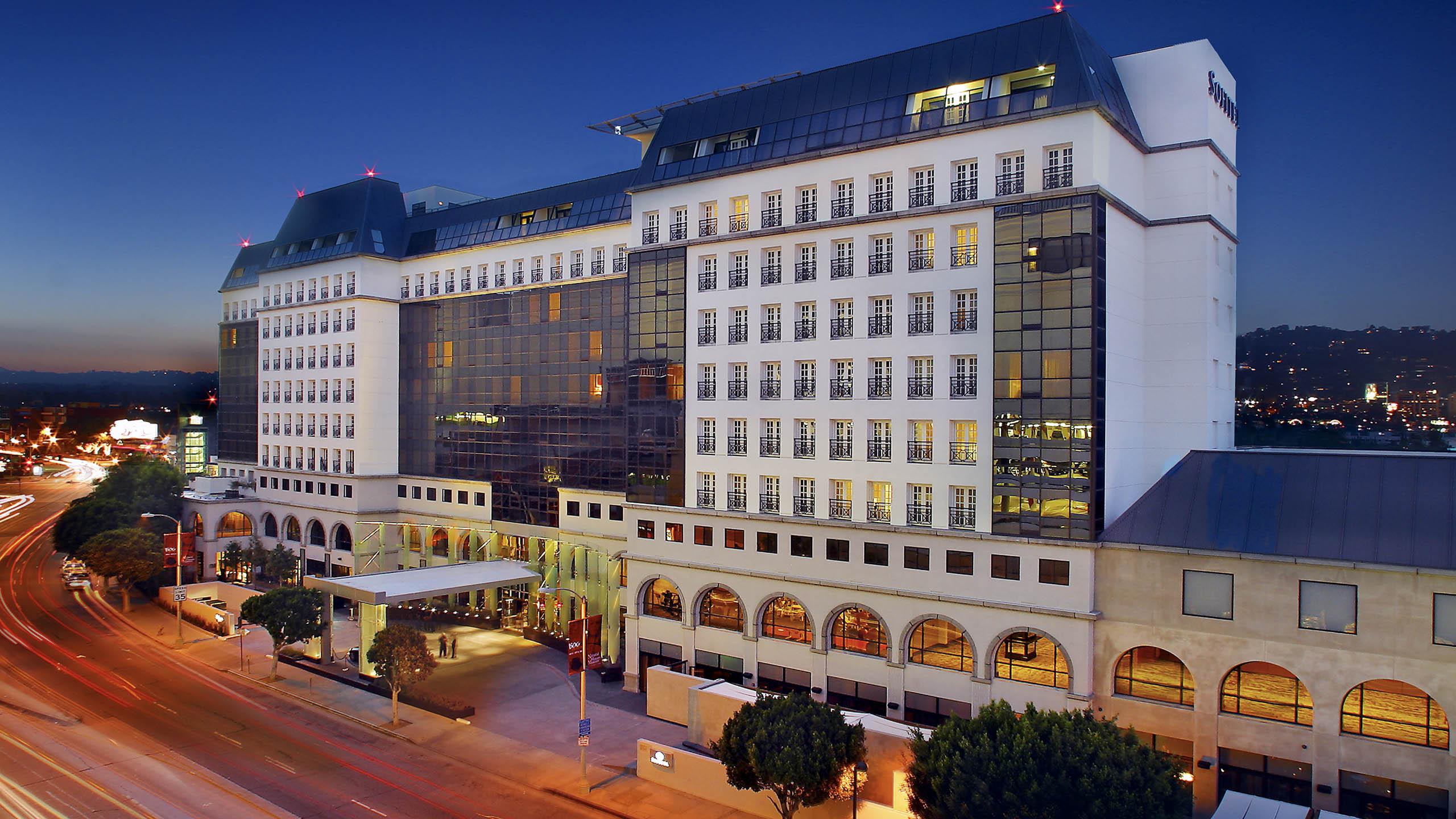 Sofitel hotel in Beverly Hills, LA